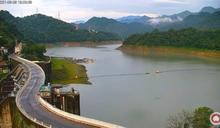 石門水庫水位狂升22公尺 驚人對比圖曝光淹到這了