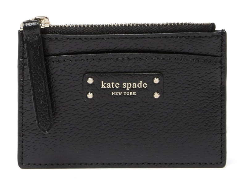 Kate Spade Jeanne Small Zip Leather Card Holder (Photo: Nordstrom Rack)