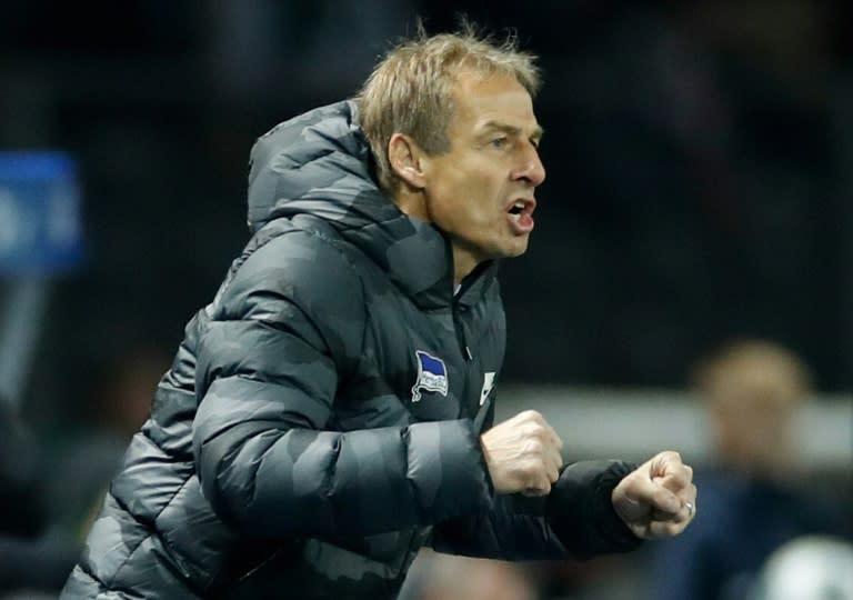 Jurgen Klinsmann has been slammed by the German press after lasting just 76 days as head coach of Hertha Berlin