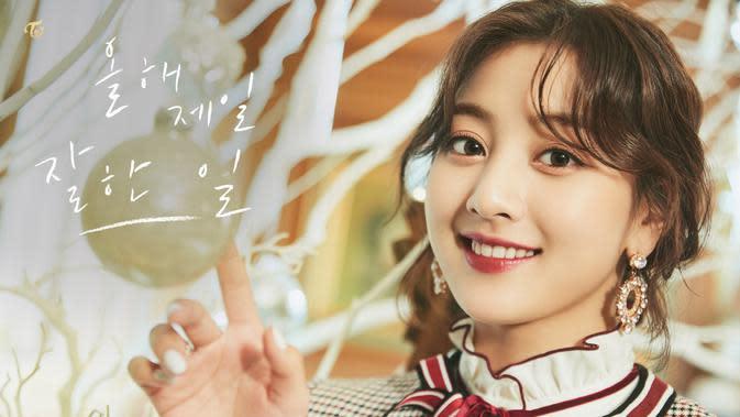 Jihyo Twice (JYP Entertainment via Soompi)