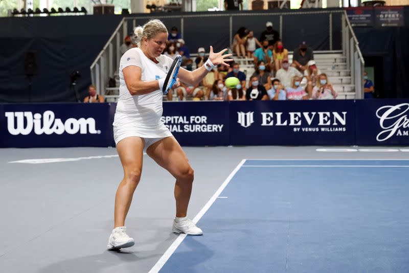 Clijsters faces tough path in bid to reclaim past glory