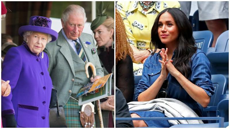 Meghan attended the US Open final instead of joining the royals at the Highland Games. Photo: Getty Images