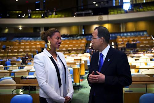 Beyoncé Wows The United Nations With Wild Statement Earrings