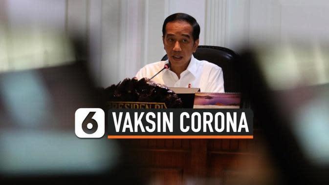 VIDEO: Jokowi Dorong Produksi Vaksin Corona Dalam Negeri