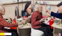 9旬老奶奶住院老伴親餵飯 護士目睹欣羨:愛情最美的模樣!