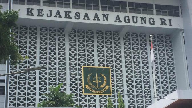 Gedung Kejaksaan Agung Jakarta. (Liputan6.com/Muhammad Radityo Priyasmoro)