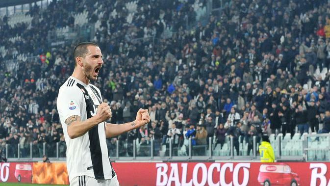 8. Leonardo Bonucci: 6,5 juta euro per tahun. (AP/Alessandro Di Marco)