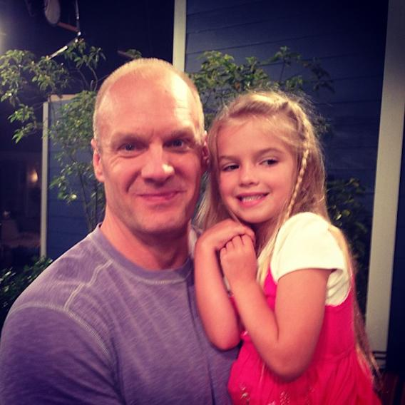 This beautiful young lady has literally grown up in my arms… #goodluckcharlie