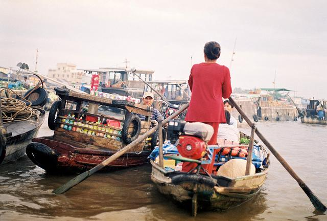 Flickr photo of the day: Floating market