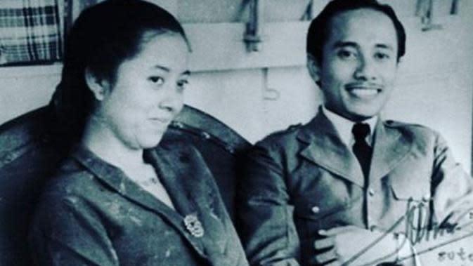Sulistina Sutomo, istri Bung Tomo yang meninggal Rabu (31/8) dini hari di RSPAD Gatot Subroto. (Via: instagram.com/koransumeks)