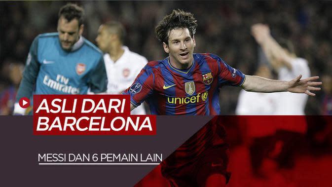 MOTION GRAFIS: Lionel Messi dan 6 Pemain Produk Asli Barcelona Termahal Saat Ini