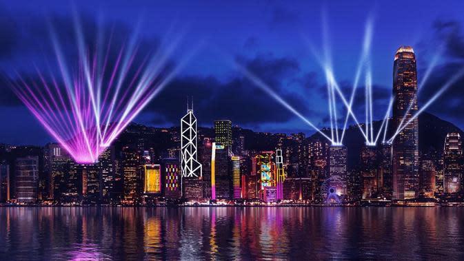 The Symphony of Lights Hong Kong.