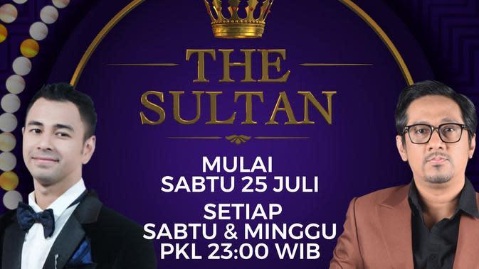 Live Streaming SCTV The Sultan Bersama Raffi Ahmad dan Andre Taulany, Minggu 18 Oktober 2020