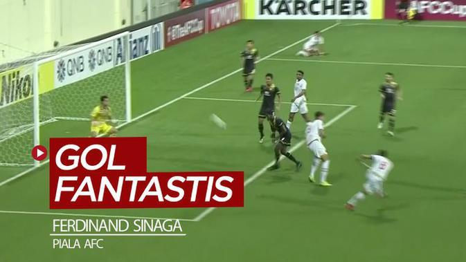 VIDEO: Gol Fantastis Striker PSM, Ferdinand Sinaga di Piala AFC