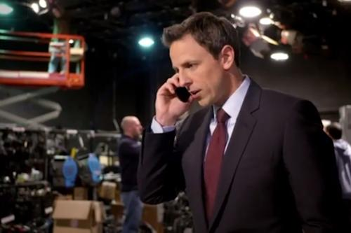 Seth Meyers Reveals First 'Late Night' Lineup: Vice President Biden, Kanye West, Lena Dunham