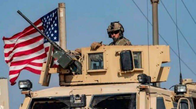 VIVA Militer: Pasukan militer Amerika Serikat (US Armed Forces) di Suriah