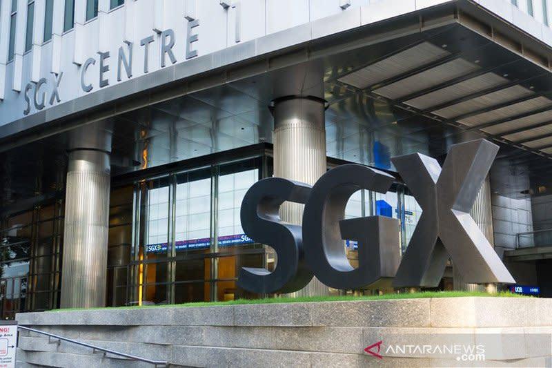 Saham Singapura ditutup naik tajam, indeks STI melonjak 2,38 persen