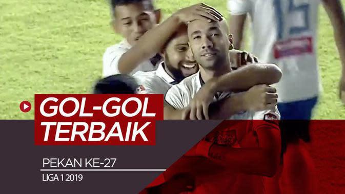 VIDEO: 5 Gol Terbaik Pekan Ke-27 Liga 1 2019
