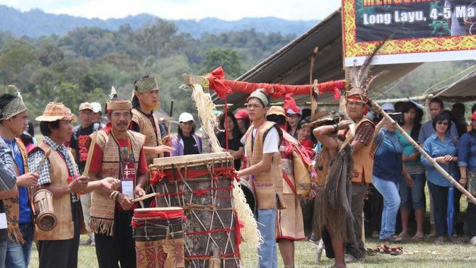 Forum Musyawarah Masyarakat Adat Taman Nasional Kayan Mentarang. (dok. Istimewa)