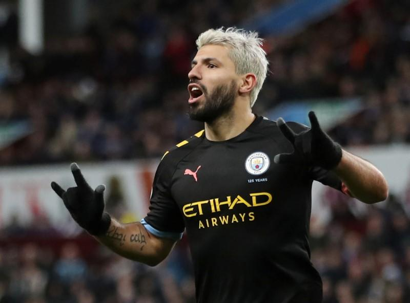 Guardiola says Aguero has a gift as he becomes leading overseas scorer