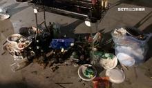 60人烤肉趴滿地垃圾 網怒肉搜店家