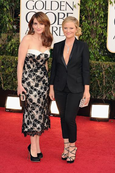 70th Annual Golden Globe Awards - Arrivals: Tina Fey and Amy Poehler