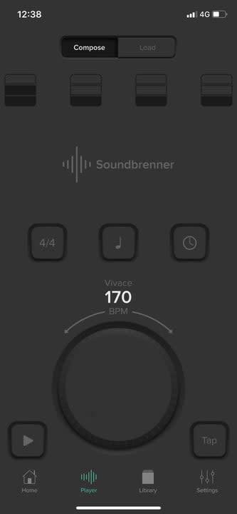 Soundbrenner guitar app