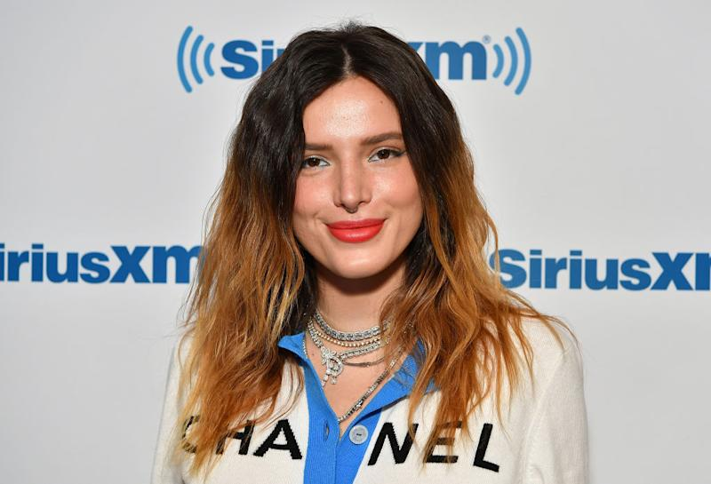Bella Thorne has revealed she identifies as pansexual [Photo: Getty]