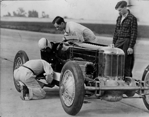 June 14: Front-wheel-drive Packard sets a 148-mph speed record on this date in 1928