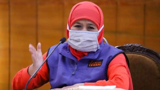 Kasus COVID-19 Turun, Khofifah Batal Buat RS Lapangan di Malang