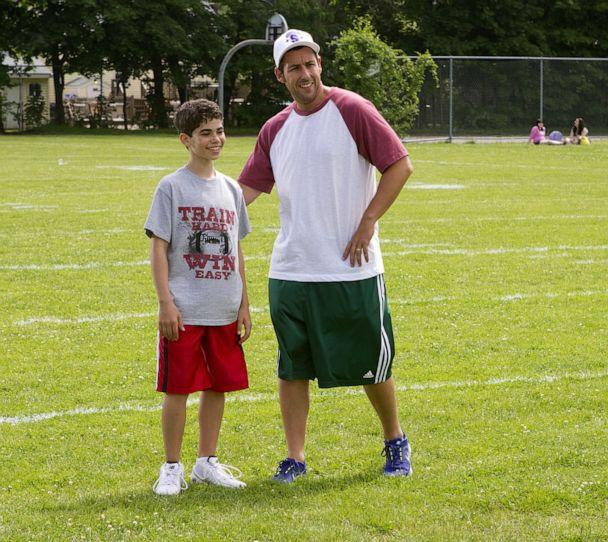 PHOTO: Cameron Boyce appears in a scene in 'Grown Ups' with Adam Sandler. (Snap Stills/REX)