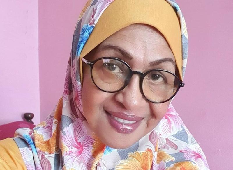 Veteran actress Fauziah Nawi took to Instagram urging Malaysians not to go back to their hometown this Aidilfitri due to the pandemic. — Photo courtesy of Instagram/ Fauziah Nawi