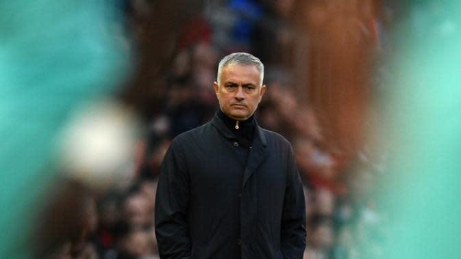 Manajer Manchester United asal Portugal, Jose Mourinho. (AFP/Oli Scarff)