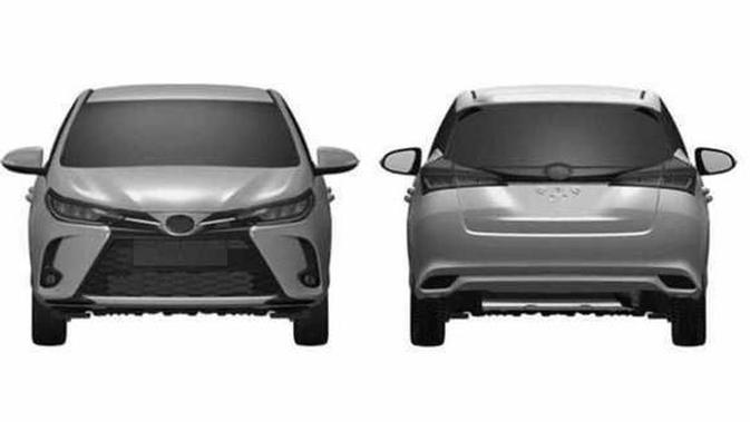 Bocoran Toyota Yaris Terbaru, Wajahnya Mirip Corolla