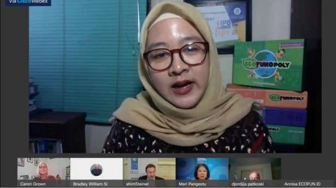 Annisa Hasanah, pendiri Ecofun di Indonesia
