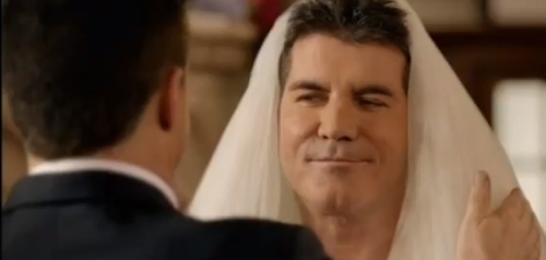 "Simon Cowell ""Marries"" His One True Love In Hilarious Viral Clip"