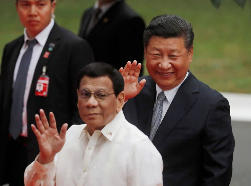Philippines says engaging Western pharma firms, despite Duterte anger