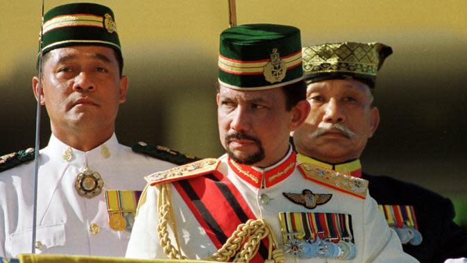 Pemimpin Brunei Darrusalam, Sultan Hassanal Bolkiah (AFP/Roslam Rahman)