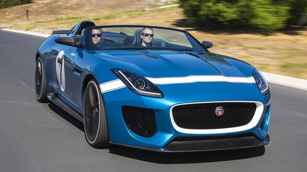 Jaguar Project 7 is an F-Type on steroids: Motoramic Drives