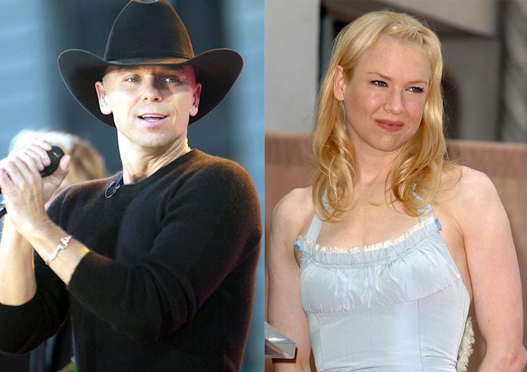 Renee Zellweger and Kenny Chesney