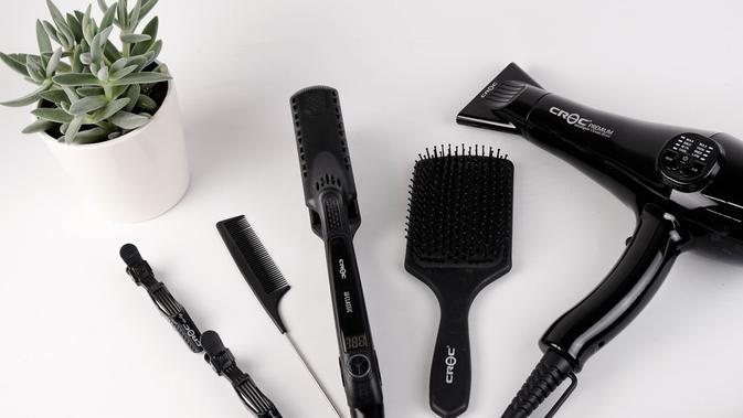 pemanasan rambut (Foto: Unsplash)