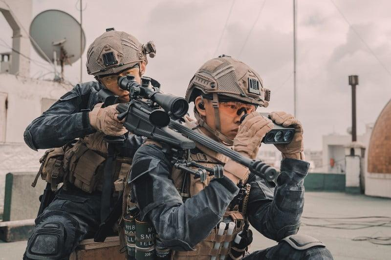 Shot from Operation Red Sea