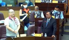 桃捷與網紅蔡阿嘎互惠案 董座未列席備詢慘遭議員劉勝全砲轟