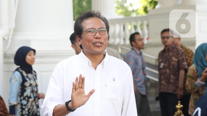 Jubir Presiden Jokowi Datangi Lokasi Ledakan di Monas