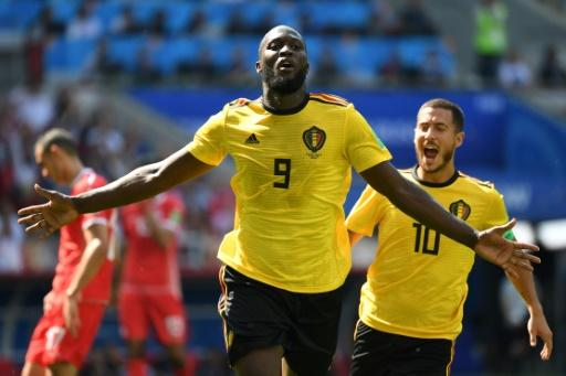 Romelu Lukaku is not expected to feature against England after picking up an ankle knock