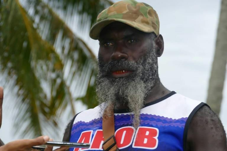 Until a 1997 truce, George Diva was a fighter with the pro-independence Bougainville Revolutionary Army