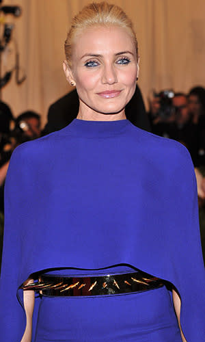 Cameron Diaz's Met Gala Dress Might Hurt You