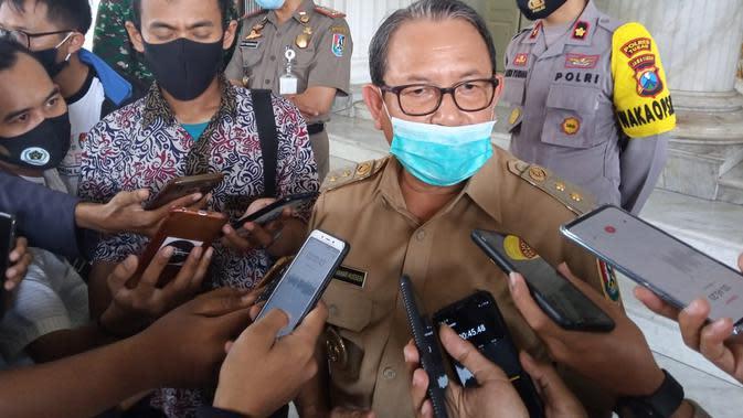 Viral Video Anggota TNI, Polisi dan Kades Joget di Konser Dangdut saat Tuban Zona Merah. (Foto: Liputan6.com/Ahmad Adirin)