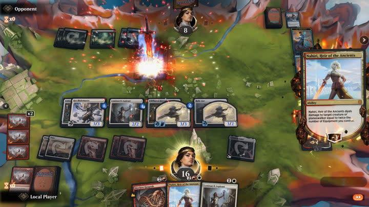 Magic the Gathering: Arena board