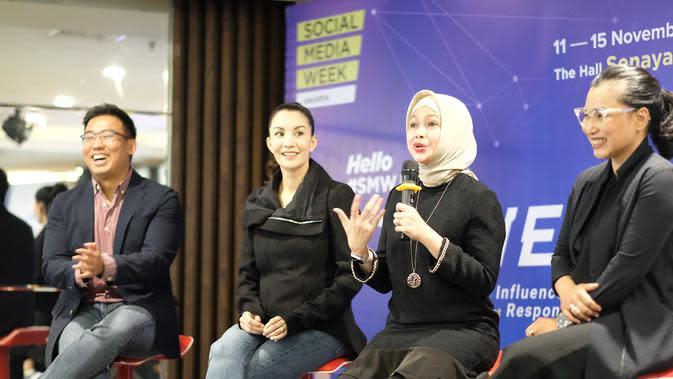 Intip Press Conference Social Media Week Jakarta 2019